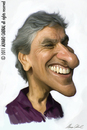 Cartoon: Caetano Veloso (small) by alvarocabral tagged caricature