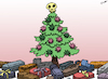 Cartoon: Christmas Celebration 2020 (small) by cartoonistzach tagged christmas,holidays,celebration,2020,coronavirus,covid19,pandemic