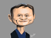 Cartoon: Jack Ma caricature (small) by Gamika tagged caricature,jack,ma,cartoon