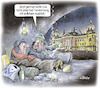 Cartoon: Wohnungsnot (small) by Ritter-Karikaturen tagged wohnungsnot