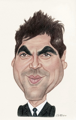 Cartoon: Javier Bardem (medium) by Gero tagged caricature