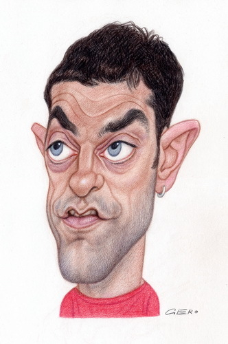 Cartoon: Slaven Bilic (medium) by Gero tagged caricature