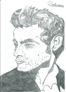 Cartoon: James Dean (small) by Rosetosaurus tagged hollywood,james,dean,actor