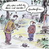Cartoon: Chance durch Quote (small) by Bernd Zeller tagged frauenquote,quote