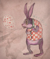 Cartoon: Seriously! (small) by VLADIMIR tagged rabbit,cartoon,art