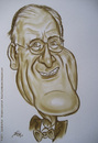 Cartoon: James Cromwell (small) by Portraits-Karikaturen tagged james,cromwell,karikatur,caricature,schweinchen,babe