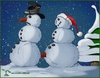 Cartoon: Schneemänner (small) by Charmless tagged schneemann snowman winter schneien