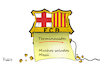 Cartoon: Messi kündigt per Fax (small) by Fish tagged fussball,lionel,messi,weltfussballer,kündigung,fax,faxgerät,spanien,fc,barcelone
