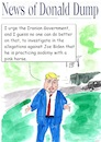 Cartoon: Donald Dump investigations (small) by Stefan von Emmerich tagged donald,trump,joe,biden,investigations