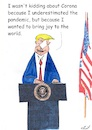 Cartoon: Joy to the world (small) by Stefan von Emmerich tagged donald,trump,corona,joy,to,the,world