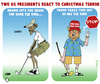 Cartoon: Christmas Terror Tee Time (small) by NEM0 tagged berlin,germany,terror,christmas,truck,attack,obama,trump,us,golf,nemo,nem0