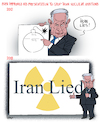Cartoon: Iran Lied (small) by NEM0 tagged donald,trump,iri,iran,nuke,nuclear,obama,john,kerry,atom,atomic,wmd,weapon,weapons,of,mas,destruction,terror,hassan,rohani,jcpa,ayatollah,khameni,middeast,middle,east,uk,israel,france,germany,eu,russia,china
