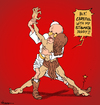 Cartoon: Stigma-Tango (small) by NEM0 tagged pope,francis,vatican,jesus,christ,easter,resurection,dance,tango,argentina,argentinian,latin,america,latino,scandals,religion,chistian,catholuic,stigmata