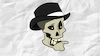 Cartoon: Skull 1 (small) by bussdee tagged skull,totenkopg,wallpaper,hut,business,lustig,funny,scary,desktop