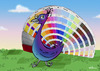Cartoon: Collors (small) by elihu tagged peacock,pantone,collors,nature