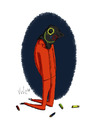 Cartoon: Guantanamo (small) by julianloa tagged guantanamo,militär,hilfe,angst,politik,folter,terrorismus