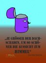 Cartoon: Dachschaden (small) by Kucki tagged religion