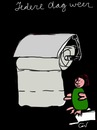 Cartoon: everyday (small) by ceesdevrieze tagged convenience