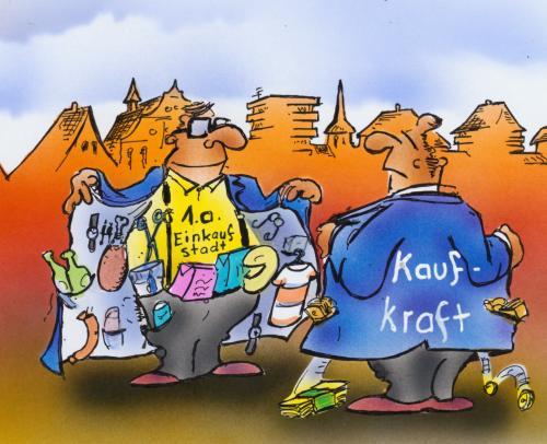Angebot Und Nachfrage Von Hsb Cartoon Wirtschaft Cartoon Toonpool