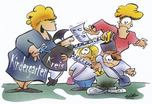 Cartoon: U3 Ausbau (medium) by HSB-Cartoon tagged kinder,eltern,erzieher,pädagogen,politik,politiker,kindergarten,junge,mädchen,cartoon,karikatur,airbrush,kinder,eltern,erzieher,pädagogen,kindergarten,politiker,politik,junge,mädchen,jugend
