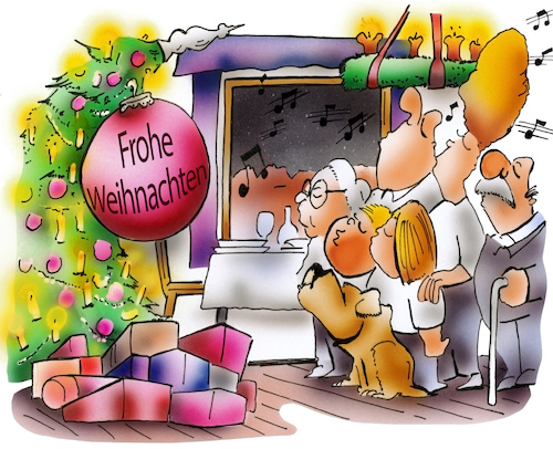 Cartoon: Weihnachtsstimmung (medium) by HSB-Cartoon tagged christmas,feeling,tree,family,sing,song,airbrush,besinnlich,cartoon,entspannung,familie,familienleben,hsb,hsbcartoon,karikatur,lokalkarikatur,ruhe,singen,stimmung,stimmungsvoll,weihnachten,weihnachtsbaum,weihnachtslieder,zeit,christmas,feeling,tree,family,sing,song,airbrush,besinnlich,cartoon,entspannung,familie,familienleben,hsb,hsbcartoon,karikatur,lokalkarikatur,ruhe,singen,stimmung,stimmungsvoll,weihnachten,weihnachtsbaum,weihnachtslieder,zeit
