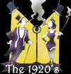 Cartoon: 20s (small) by HSB-Cartoon tagged 1920,tweenties,centure,show,revue,airbrush,illustration,cartoon,hsbcartoon,heinz,schwarzeblanke,art,design,picture
