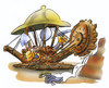 Cartoon: archäologie (small) by HSB-Cartoon tagged archäologe,archäologie,grabung,ausgrabung,tagebau,bagger,archeologist,dig,excavate,dredger,dredge