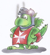 Cartoon: dragon (small) by HSB-Cartoon tagged dragon,drache,fire,feuer,knight,rittercartoon,caricature,karikatur