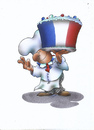 Cartoon: french cuisine (small) by HSB-Cartoon tagged french,france,frankreich,cuisine,kitchen,cooking,cake,französiche,küche,koch,chef,meal,eating,dinner,essen,kuchen,torte,küchenchef,gastroonomie,baker,bakery,bäcker,cartoon,caricature