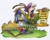 Cartoon: Früher (small) by HSB-Cartoon tagged mittelalter,ausrufer,strom,energie,cartoon,airbrush