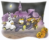 Cartoon: Halloween (small) by HSB-Cartoon tagged halloween,horror,ghost,vampir,witch
