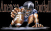 Cartoon: NFL (small) by HSB-Cartoon tagged nfl,sport,football,americanfootball,amerika,usa,airbrush