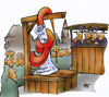 Cartoon: public petition (small) by HSB-Cartoon tagged public,present,politic,lynch,people,justice