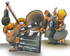 Cartoon: regie (small) by HSB-Cartoon tagged regie,homevideo,film,star,actress,actor,cinema,homeentertainment,screen,cancorder,featurefilm,television,tv,airbbrush,fernseh,video,spielfilm,familie,familienfilm