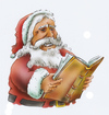 Cartoon: Santa Claus (small) by HSB-Cartoon tagged santa,claus,nikolaus,xmas,christmas,weihnachten