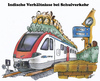 Cartoon: Schulverkehr (small) by HSB-Cartoon tagged schule,schüler,schulweg,eisenbahn,bahn,db,zug,cartoon,cariccature,karikatur,hsb,aibrush