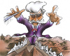 Cartoon: the conductor (small) by HSB-Cartoon tagged conductor,conduct,dirigent,dirigieren,musik,music,klassik,classic,airbrushcartoon,airbrush,musiccaricatur,musiccartoon