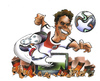 Cartoon: Thomas Müller (small) by HSB-Cartoon tagged wm,championship,brazil,deutschland,germany,weltmeister,weltmeisterschaft,nationalspieler,nationalmannschaft,team,nationalteam,ball,fussball,fußball,football,soccer,thomas,müller,worldchampionship