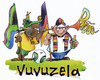 Cartoon: Vuvuzela (small) by HSB-Cartoon tagged fußball,soccer,wm,wm2010,südafrika,vuvuzela,fan,deutschland,germany,stadion,spiel,ball,fifa,fahne,airbrush,cartoon,airbrushdesign