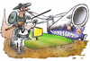 Cartoon: Windkraftwiderstand (small) by HSB-Cartoon tagged wind,windenergie,windkraft,windrad,energie,strom,investor,geld,wirtschaft,donquichote,widerstand,airbrush