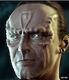 Cartoon: Cardassian (small) by Cartoonfix tagged cardassian,star,trek