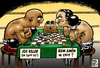 Cartoon: boxing chess (small) by Wadalupe tagged boxeo,ajedrez,deporte,match,ring,duelo