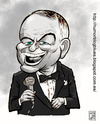 Cartoon: frank sinatra (small) by humorblogblues tagged sinatra,cine,singer,cantante,star,estrella,actor,mito,famoso