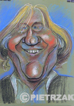 Cartoon: Gerard Depardieu (medium) by Darek Pietrzak tagged karikatur