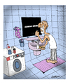 Cartoon: Oldy (small) by ismailozmen tagged mirror,old,bath,shave,cinema,life,death