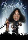 Cartoon: Metallica (small) by carparelli tagged caricature