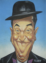 Cartoon: STAN LAUREL . O MAGRO (small) by TUBA tagged stan,laurel