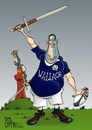 Cartoon: six Nations - week four (small) by campbell tagged six,nations,rugby,scotland,braveheart