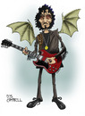 Cartoon: Tony Iommi (small) by campbell tagged tony,iommi,black,sabbath,hearvy,metal,rock,guitar,guitarist,music