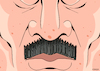 Cartoon: Portait of Lukasheno-detail (small) by EnricoBertuccioli tagged lukashenko,belarus,dictatorship,autocracy,authoritarianism,government,oppression,opposition,elections,fraud,human,rights,democracy,freedom,people,society,violence,policy,protests,police,military